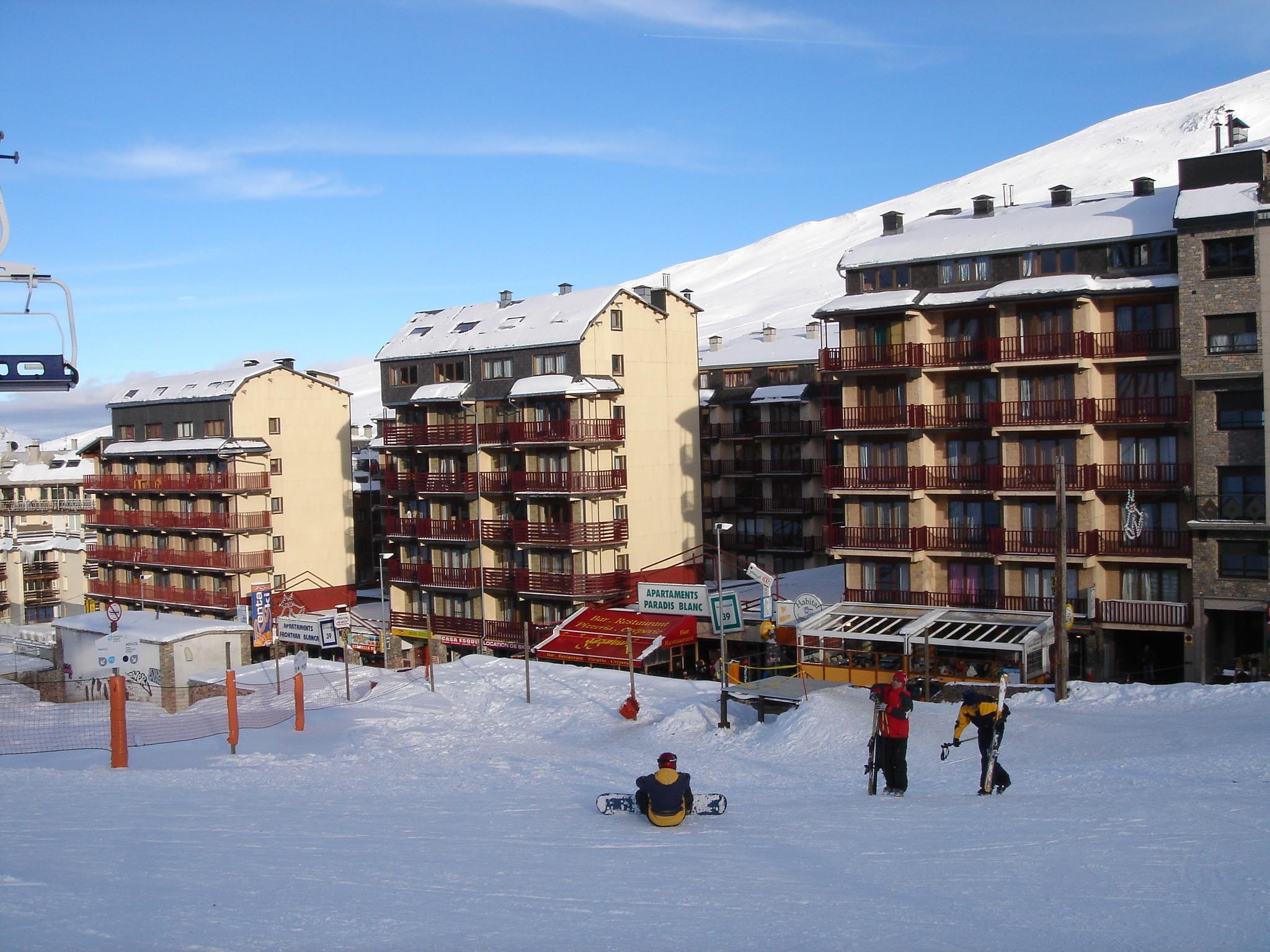 Apartamento Paradis Blanc 3000